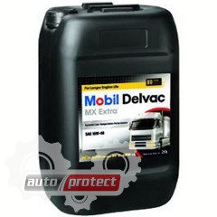 Фото 1 - Mobil Моторное масло Mobil Delvac MX Extra 10W-40