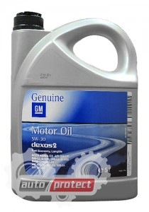 Фото 1 - GM Genuine Dexos 2 Longlife 5w-30 Оригинальное моторное масло