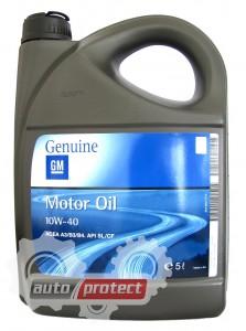Фото 1 - GM Semi Synthetic 10W-40 Оригинальное моторное масло