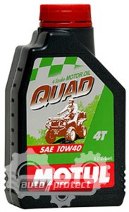 Фото 1 - Motul QUAD 10W-40 4T Минеральное масло для 4Т двигателей квадрациклов