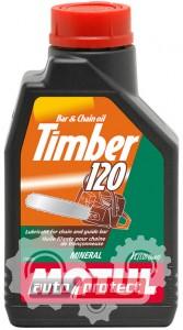 Фото 1 - Motul Timber 120 Трансмиссионное минеральное масло для механических цепных пил