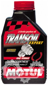 Фото 2 - Motul Transoil Expert 10W-40 Полусинтетическое трансмиссионное масло для скутеров