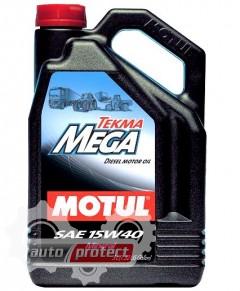 Фото 1 - Motul TEKMA MEGA SAE 15W-40 Минеральное моторное масло