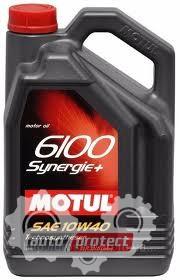 Фото 1 - Motul 6100 Synergie + 10W-40 Полусинтетическое моторное масло