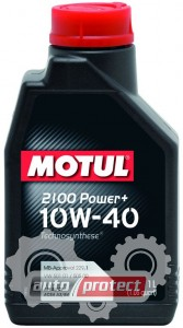 Фото 1 - Motul 2100 POWER+ 10W-40 Полусинтетическое моторное масло