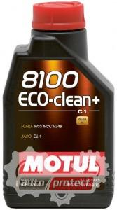 Фото 1 - Motul 8100 ECO-CLEAN + SAE 5W-30 Синтетическое моторное масло
