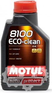 Фото 1 - Motul 8100 ECO-CLEAN SAE 5W-30 Синтетическое моторное масло