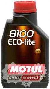 Фото 1 - Motul 8100 ECO-LITE 0W-20 Синтетическое моторное масло
