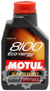 Фото 1 - Motul 8100 ECO-NERGY SAE 5W-30 Синтетическое моторное масло