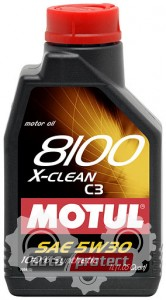 Фото 1 - Motul 8100 X-CLEAN SAE 5W-30 Синтетическое моторное масло