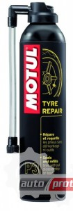 Фото 1 - Motul Средство для ремонта и подкачки шин Motul P3 TYRE REPAIR