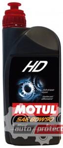 Фото 1 - Motul HD SAE GL-4 80W-90 Трансмиссионное масло