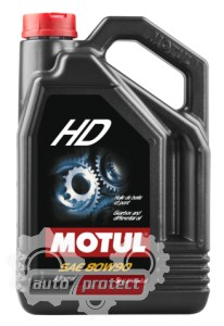 Фото 1 - Motul HD GL-4 80W-90 Минеральное трансмиссионное масло