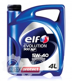 Фото 1 - ELF Evolution NF 5W-40 Масло моторное синтетическое