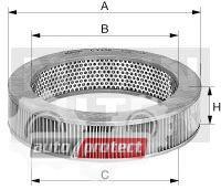 Фото 1 - MANN-FILTER C 30 010 воздушный фильтр