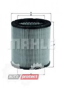Фото 1 - MAHLE LX 100 воздушный фильтр