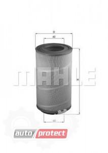 Фото 1 - MAHLE LX 1025 воздушный фильтр