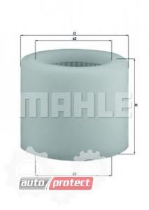 Фото 1 - MAHLE LX 123 воздушный фильтр
