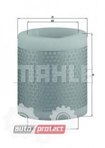 Фото 1 - MAHLE LX 124 воздушный фильтр
