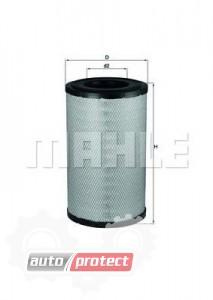 Фото 1 - MAHLE LX 1243 воздушный фильтр