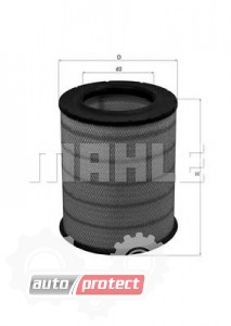 Фото 1 - MAHLE LX 1281 воздушный фильтр