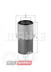 Фото 1 - MAHLE LX 1579 воздушный фильтр