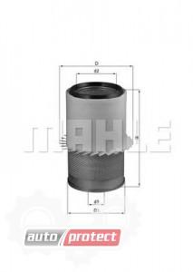 Фото 1 - MAHLE LX 1580 воздушный фильтр