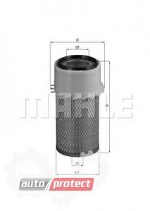 Фото 1 - MAHLE LX 16 воздушный фильтр
