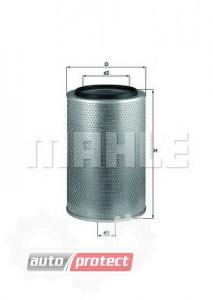 Фото 1 - MAHLE LX 1606 воздушный фильтр