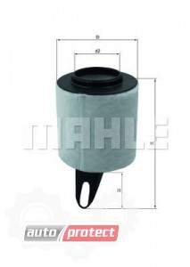 Фото 1 - MAHLE LX 1650 воздушный фильтр