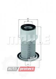 Фото 1 - MAHLE LX 1669 воздушный фильтр