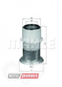 Фото 1 - MAHLE LX 1674 воздушный фильтр