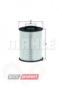 Фото 1 - MAHLE LX 1780/3 воздушный фильтр