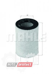 Фото 1 - MAHLE LX 1792 воздушный фильтр