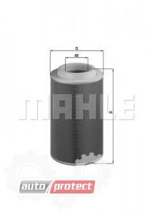 Фото 1 - MAHLE LX 1801 воздушный фильтр