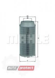 Фото 1 - MAHLE LX 1802 воздушный фильтр