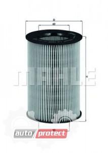Фото 1 - MAHLE LX 1805 воздушный фильтр
