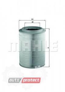 Фото 1 - MAHLE LX 2082 воздушный фильтр