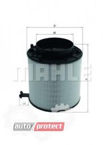 Фото 1 - MAHLE LX 2091D воздушный фильтр