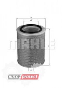 Фото 1 - MAHLE LX 231 воздушный фильтр
