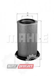 Фото 1 - MAHLE LX 243 воздушный фильтр