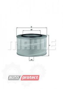 Фото 1 - MAHLE LX 507 воздушный фильтр