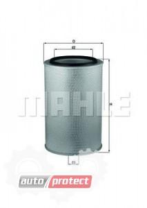 Фото 1 - MAHLE LX 626 воздушный фильтр