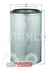 Фото 1 - MAHLE LX 654 воздушный фильтр