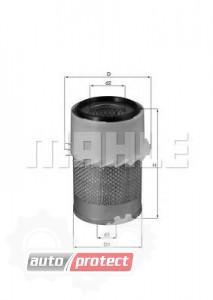 Фото 1 - MAHLE LX 730 воздушный фильтр