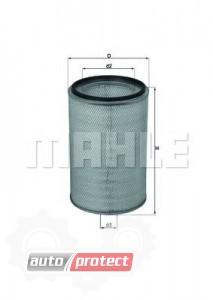 Фото 1 - MAHLE LX 760 воздушный фильтр