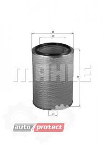 Фото 1 - MAHLE LX 761 воздушный фильтр