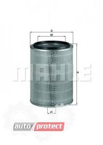 Фото 1 - MAHLE LX 765 воздушный фильтр