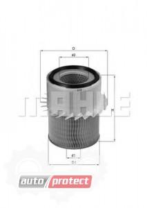 Фото 1 - MAHLE LX 878 воздушный фильтр