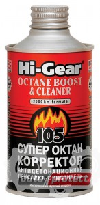 Фото 1 - Hi-Gear Octane Boost & Cleaner Супер октан корректор